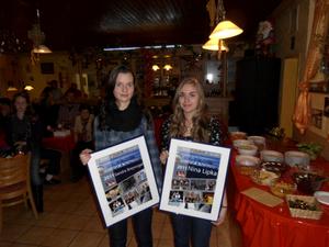 Sandra Breyvogel und Nina Lipka mit ihren Erinnerungen an die deutschen Jugendmeisterschaften