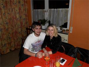 Unsere Turteltäubchen Marco und Yvonne
