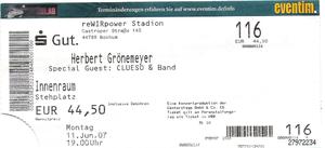 Nr.02 - 11.06.2007 - Herbert Grönemeyer - Ruhrstadion, Bochum