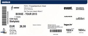 Nr.76 - 16.04.2013 - Bosse - Freizeitzentrum West, Dortmund