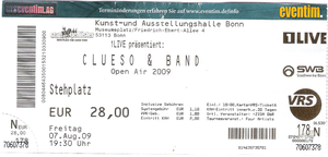 Nr.16 - 07.08.2009 - Clueso - Museumsplatz, Bonn