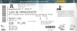 Nr.24 - 02.12.2009 - clueso &stüba - Zeche Zollverein, Essen