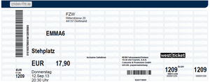 Nr.102 - 12.09.2013 - Emma6 - FZW, Dortmund