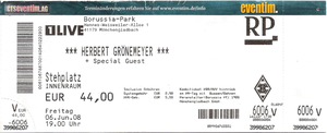 Nr.06 - 06.06.2008 - Herbert Grönemeyer - Borussia-Park, Mönchengladbach