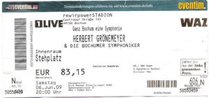 Nr.13 - 06.06.2009 - Herbert Grönemeyer - Ruhrstadion, Bochum