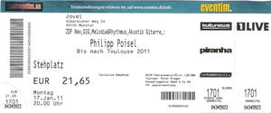 Nr.32 - 17.01.2011 - Philipp Poisel - Jovel, Münster