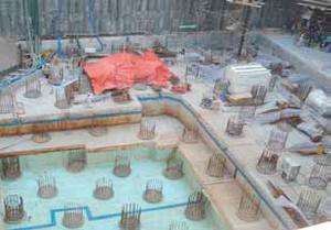 Информация о ходе строительства на Апрель 2012 года