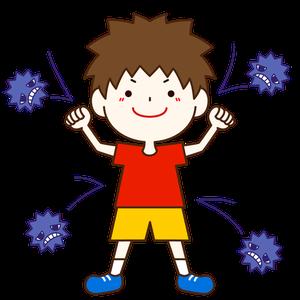免疫機能がアップ