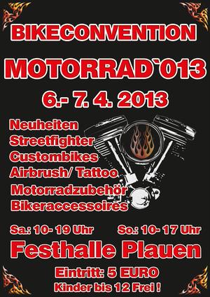 Besuchen Sie uns auf der Bikeconvention am 6.und 7. April!