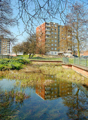 Hawkesley Moat photographed by Birmingham Phil and used with his kind permission. Image 'All Rights Reserved' downloaded from Flickr.