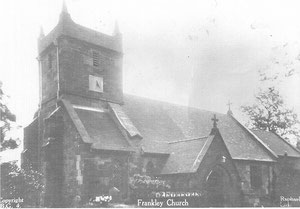 St Leonard's Church. Thanks to Local History Digital Archive of the History Department of King Edward VI Grammar School, Five Ways, Bartley Green - See Acknowledgements to link to that website.