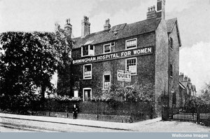 The Women's Hospital 1931. Image from Wellcome Images and available under Creative Commons by-nc 2.0 UK: England & Wales