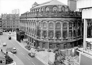 The second Central Library about to be demolished c1970
