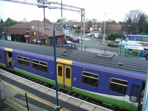 Marston Green station and bus interchange