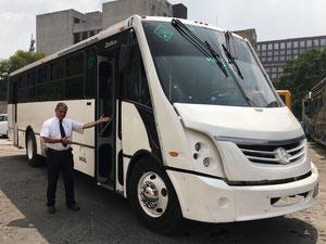 Renta de  Camiones de Transporte de Personal  para sus Eventos que requieran Transportación en horarios Matutino, Vespertino y Nocturno en la Ciudad de México y área metropolitana los 365 días del año.