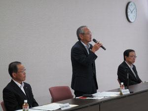 近畿運輸局長と自動車業界団体長との懇談会