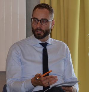 Patrick Schreiber MdL moderiert zum 7. Altenbericht der AWO