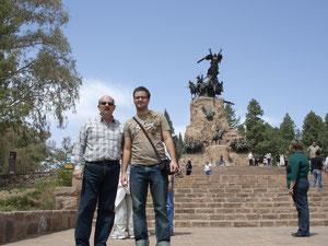 Mein Vater und ich in Mendoza