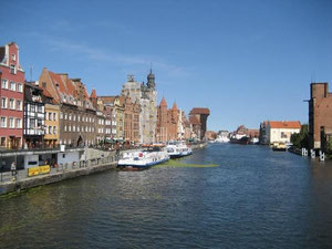 Ein Besuch in Gdansk (hier das Kranentor)