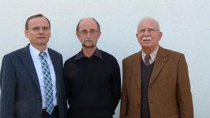 Dieter Fuchs, Manfred Bergmann und Heinz Wack (von links) - Foto: Peter Kobert
