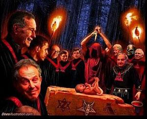 """sacrifice humain au Bohemian Club où se rejoignent le cercle """"interne"""", l' """"élite """", les penseurs... Nos dirigeants"""