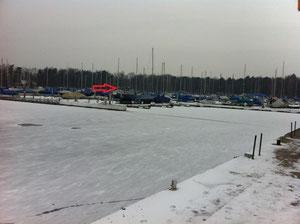 """Winterruhe 2011  """"Schiffe auf Eis"""" von Dieter und Carmen"""