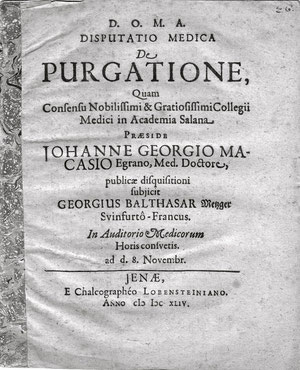 Die Dissertation der G. B. Metzger