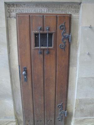 Die Tür zum Verlies