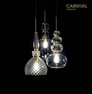 CARNIVAL - Pendelleuchten Glas von Light4