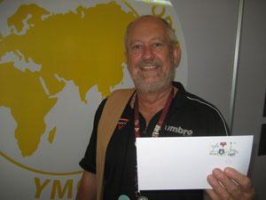 Eckard M. Geisler ist ein ausgewiesener Experte für CVJM-Briefmarken