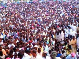 Anti-amerikansk demonstration i Mogadishu i marts 2006 ( billede: STS)