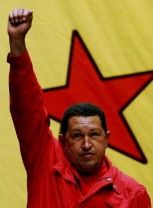 Venezuelas præsident Hugo Chávez