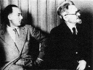 Erwin Wolf og Leon Trotskij i Norge