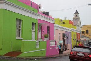 Les couleurs des maisons de Bo-Kaap
