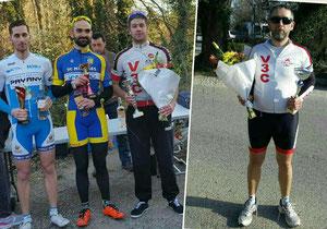 Bouquet pour Louis et Éric... Quels débuts de saison !!