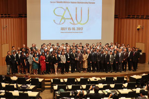 Representatives at the 3rd SAJU Forum