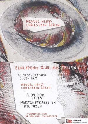 galerie time Ausstellung Miguel Henz und Christian Beran