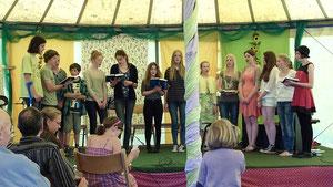 Schülerbibelkreis in Aktion