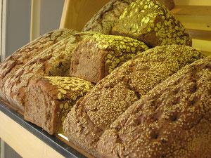 In der Bio-Bäckerei.... :)