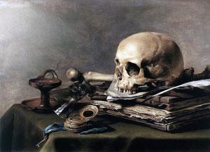 """Pieter Claesz: """"Vanitas-Stillleben"""" (1630)"""