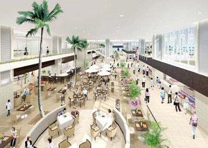 新空港ターミナルのイメージ図(石垣空港ターミナル株式会社提供)