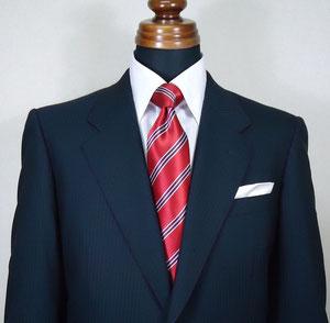 ネイビー 紺 スーツ コーディネート