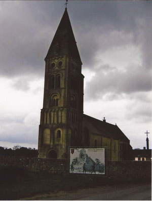 Colleville-sur-Mer Church today