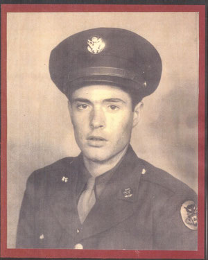 Pvt. Stephen A. Underwood Jr. - severely wounded in Selestat Dec. 17, 1944, by mortarfire, died in 1993 complications of war wounds (courtesy Greg Underwood)