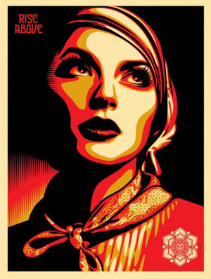 Shepard Fairey Rise Above Rebel