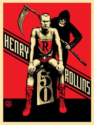 Shepard Fairey Henry Rollins