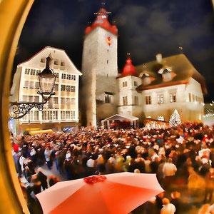 Migros-Kulturprozent: Adventssingen auf dem Luzerner Kornmarkt