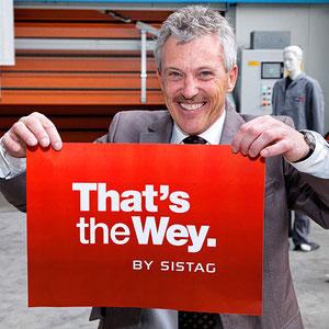That's The Wey: Die SISTAG schlägt einen neuen Weg ein