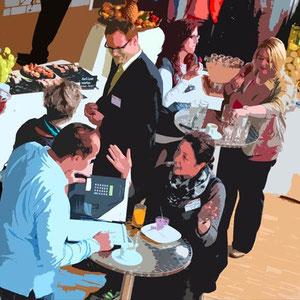 Moderationsmarkt 2012 der Neuland AG im Seminarhotel Sempachersee Nottwil/LU.