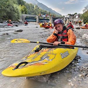 WWF-Wasserzeichen'2012: Fische und Kanuten auf dem Trockenen